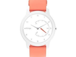 Withings Move   Activity Tracking Watch  White   Coral  38mm