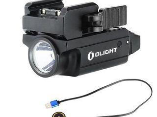 Olight Pl MINI 2 Valkyrie 600 lumen Rechargeable Quick Release Ultra Compact Pistol Flashlight  Black