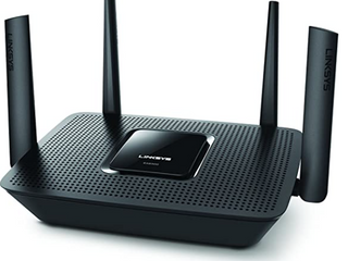 linksys MAX STREAM AC2200 Tri Band MU MIMO Smart Wi Fi Gigabit Router  Ideal for 4K TV Streaming   Gray  EA8300