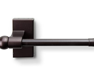 magnetic Rod   16 in  28 in  41cm 71cm  chocolate