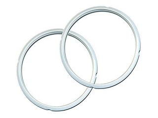 Instant Pot Sealing Ring 2 Pack Clear 8 Quart  IP Sealing Ring Clear Combo  8 Qt