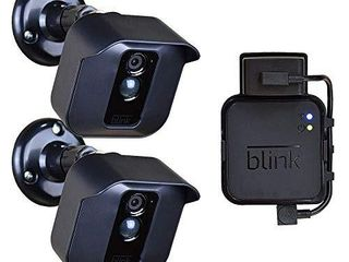 Blink Outdoor Camera Mount Bracket 3 Pack Full Weather Proof Housing Mount with Blink Sync Module Outlet Mount for Blink XT2 XT Indoor Outdoor Cameras Security System  3 Pack