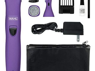 Wahl Pure Confidence Rechargeable Electric Trimer  Shaver    Detailer for Smooth Shaving   Trimming of the Face  Under Arm  Eyebrows    Bikini Areas Model 9865 100