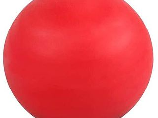 WOVTE Massage lacrosse Ball for Sore Muscles  Shoulders  Neck  Back  Foot  Body  Deep Tissue  Trigger Point  Muscle Knots  Yoga and Myofascial Release  Red
