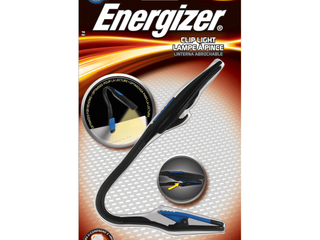 Energizer lED Book light  Clip on Personal Flashlight for Reading in Bed