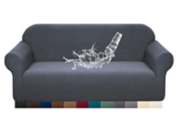 Grey Stretch Couch Cover