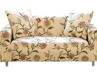 Floral Stretch Couch Slipcover