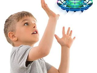 Force1 Scoot Hand Operated Drone for Kids or Adults   Hands Free Motion Sensor Mini Drone  Easy Indoor Small UFO Toy Flying Ball Drone Toy for Boys and Girls  Blue