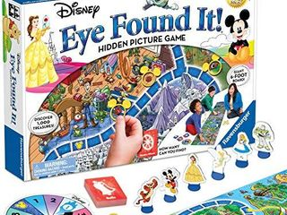 Ravensburger World of Disney Eye Found It Board Game for Boys and Girls Ages 4 and Up   A Fun Family Game You ll Want to Play Again and Again