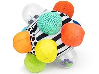 Sassy Developmental Bumpy Ball   Easy to Grasp Bumps Help Develop Motor Skills   for Ages 6 Months and Up   Colors May Vary