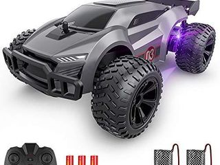 EpochAir Remote Control Car   2 4GHz High Speed Rc Cars  Offroad Hobby Rc Racing Car with Colorful led lights and Rechargeable Battery Electric Toy Car Gift for 3 4 5 6 7 8 Year Old Boys Girls Kids