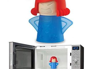 Holoras Angry Mom Microwave Cleaner  Angry Mom Microwave Steam Cleaner for Kitchen Office Add Vinegar and Water Easily Clean The Crud in Minutes  Blue