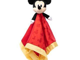 Disney Baby Mickey Mouse Plush Stuffed Animal Snuggler Blanket   Red