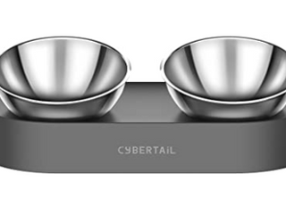 Stainless Steel Adjustable Feeding Bowl Set