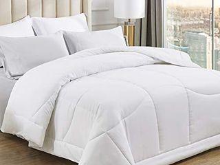 Bedsure All Season Down Alternative Duvet Insert Twin Twin Xl Size   300 GSM lightweight Microfiber Hypoallergenic Comforter with Corner Tabs   Ergonomic Quilted White Duvet