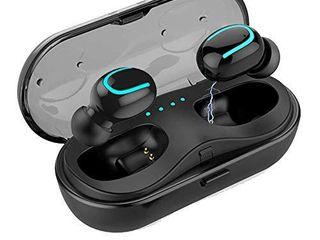 Wireless Bluetooth Earbuds 5 0  IPX5 Waterproof in Ear Noise Reduction Headphones TWS Mini Earphones 3D Stereo Sport Wireless Headset Built in Mic with 950mAh Battery Charging Case
