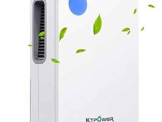 KTPOWER Dehumidifiers for Home 4800 Cubic Feet  500 sq ft  Updated 2000ml  68 oz  Ultra Quiet Dehumidifier Compact and Portable for High Humidity for Bedroom  Basements  Bathroom  Kitchen  Auto Shut off Dehumidifier
