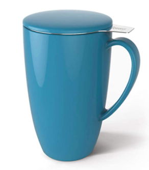 SWEESE BlUE CUP WITH SIFTING CUP