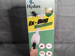 HYDAS EX BUG VACUUN PEST ATTACK VAC S UP BUGS ST ARM S lENGTH