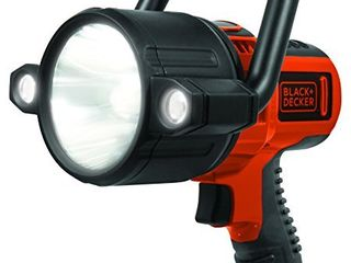 BlACK DECKER SlV2B Rechargeable 750 lumen lithium Ion 10W lED Spotlight Flashlight