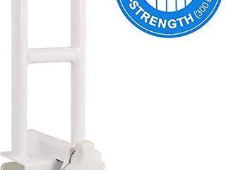 Vaunn Medical Adjustable Bathtub Safety Rail Shower Grab Bar Handle