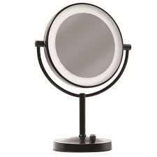 Gianni led lighted vanity mirror oil rubbed bronze