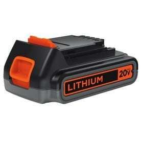 BlACK   DECKER 2 Amp Rechargeable lithium Cordless Power Equipment Battery