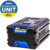 Kobalt 80 volt Max 2 5 Ah Factory Reconditioned lithium Ion Cordless Battery