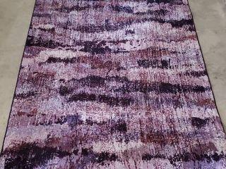 7 11  x 5  Multicolor Purple Area Rug