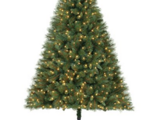 Holiday Time Pre lit 7 5  Prescott Pine Artificial Christmas Tree   lED Clear lights