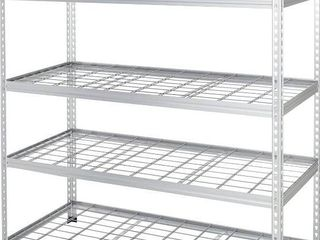 Heavy Duty Storage Shelving Unit   Double Post  Aluminum