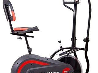 Body Power 3 in 1 Exercise Machine  Trio Trainer  Elliptical   Upright Recumbent Bike