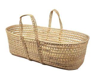 All Natural Organic Moses Basket   Some Damage