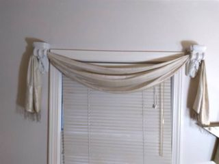 Wall Hanging Ceramic Curtain Accent Pieces with Accent Curtain