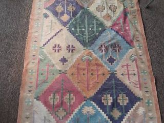 Diamond Native Patterned Outdoor Rug