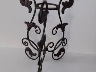Cast Iron Decorative Candle Holder