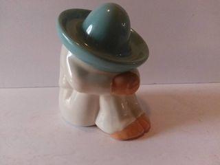 Blue Hat Pedro Home Decor Ceramic Shelf Decoration