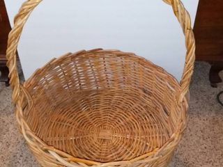 Xl Wicker Basket   As Pictured