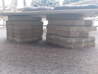 lot of 12 landscaping Rock Tiles