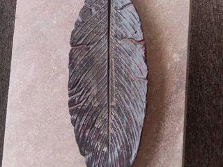 Artist Made Ceramic Fired Decorative leaf