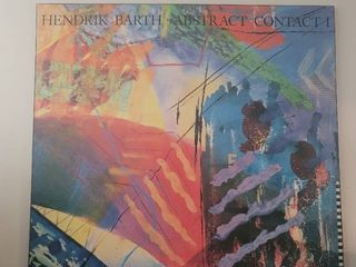 Kendrick Barth Abstract Contact 1  Poster Galerie 200 Berlin Oct 1991