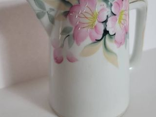 Noritake Azalea Pitcher   Hand Painted