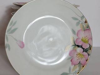 lot of 14 Noritake Azalea Salad and Ordurv Plates  Five 7in   Eight 7 5in