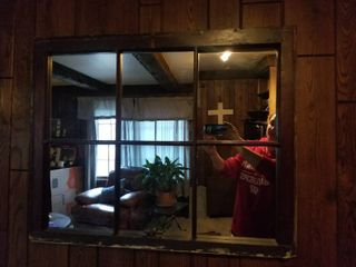 large Window Mirror Wall Decor