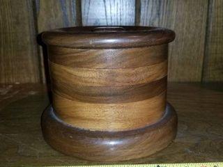 Wooden Jewelry Jar