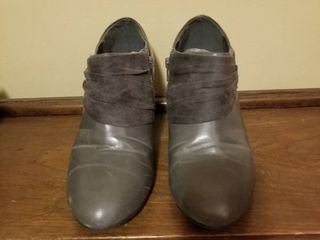 Dark Gray Cato low Cut Boot  Size 10