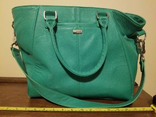Green Jewell Purse  Some Minor Wear and Tear