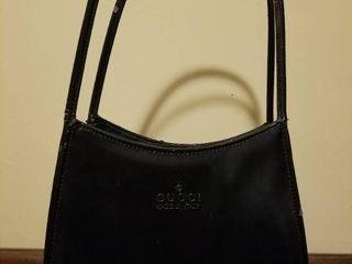 Vintage Black Handbag  Made in Italy  Minor Wear and Tear