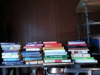 Box lot Of Books On A Range Of Topics And Subject Matter