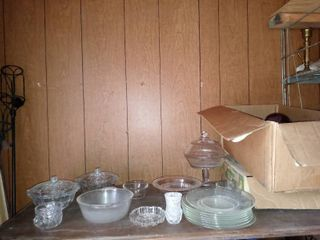 lot Of Assorted Miscellaneous Glassware For All Occasions